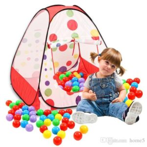 colorful indoor outdoor play tent