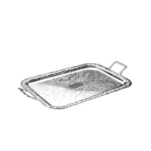 QUEEN ANNE Q62192 Tray Handle Oblong Silver