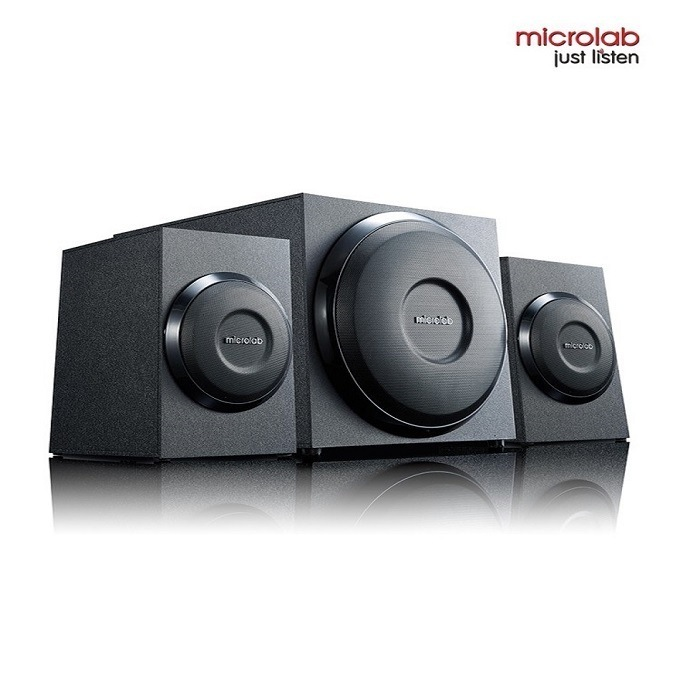 Microlab M 110 2 1 Subwoofer Speaker Dealmart Bd