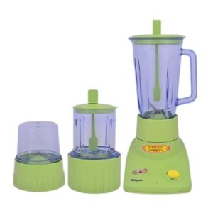 Miyako 3 in 1 Blender (with dry and wet mill) Green BL - 302 PL