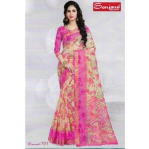 SANJANA DESIGNER ORIGINAL INDIAN GEORGETTE SHAREE
