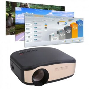 Cheerlux C6 Mini 1200 Lumens Multifunction LCD Projector Price in Bangladesh