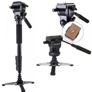 Yunteng VCT-588 Fluid Drag Head Camera Monopod and Tripod Price in Bangladesh