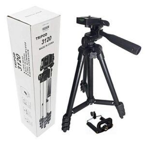 Aluminum Alloy Tripod Camera Stand with Phone Holder Price in Bangladesh