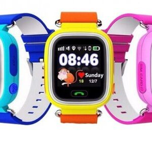 Touch Screen Q90 GPS Tracker Leather Strap Smartwatch Price in Bangladesh