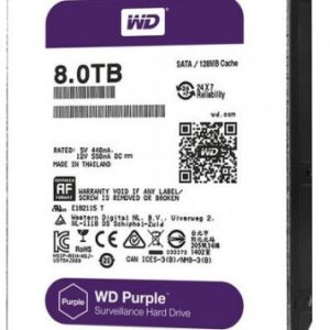 Western Digital WD80PUZX 8TB 5400 RPM Surveillance HDD Price in Bangladesh