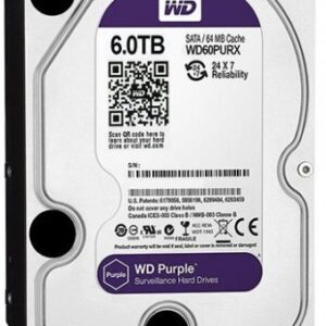 Western Digital WD60PURX WD Purple 6TB 6Gb/s Internal HDD Price in Bangladesh