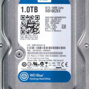 Western Digital Hard Disk 1TB SATA Internal Drive