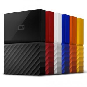 Western Digital 2 TB My Passport Portable Hard Disk Drive