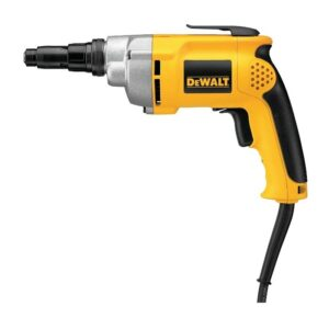 DEWALT DW268 2,500 RPM VSR VERSA-CLUTCH™ HEAVYDUTY SCREWDRIVER